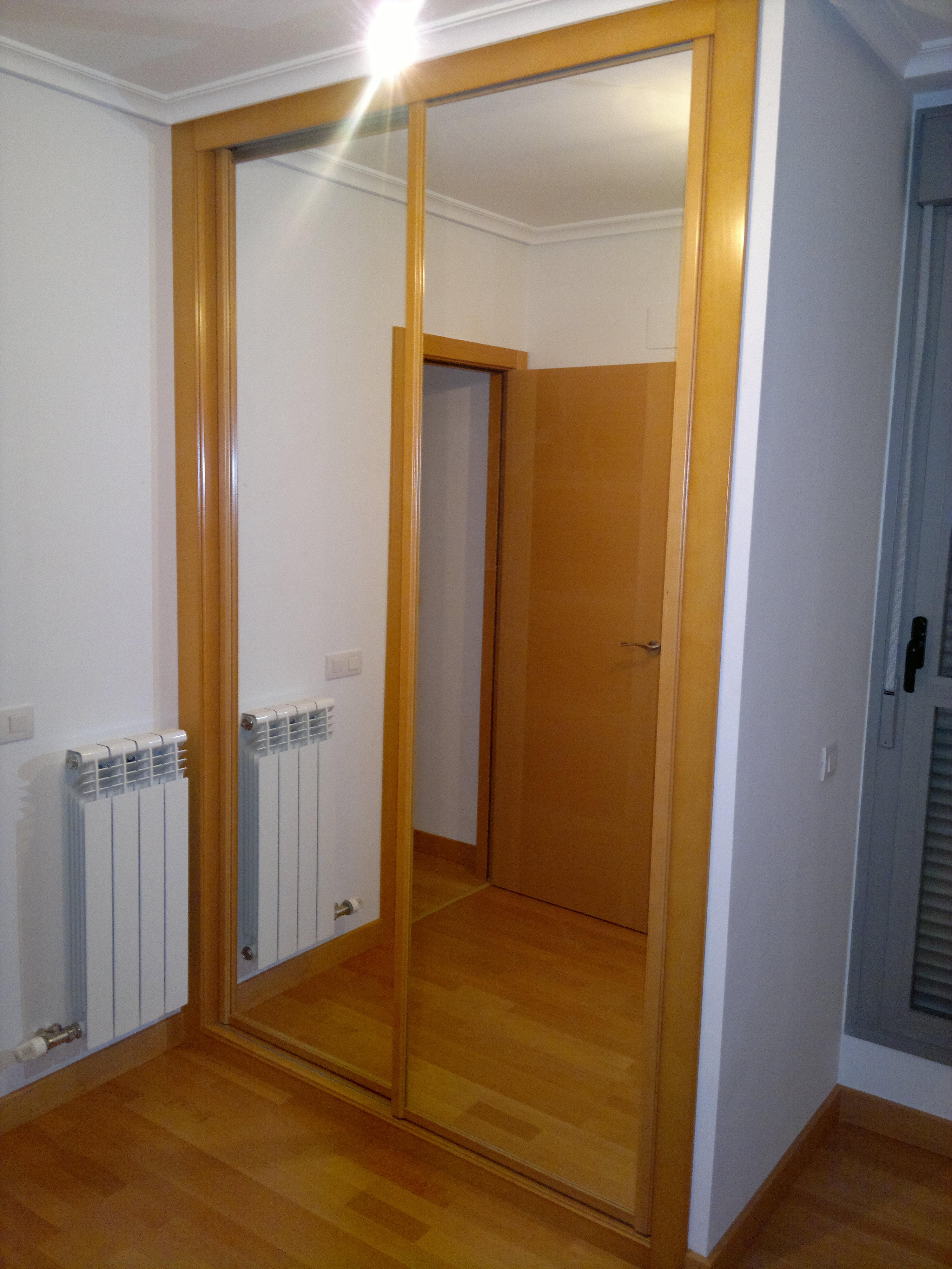 Las puertas para armario reducidas dimensiones interior - Armario con zapatero ...