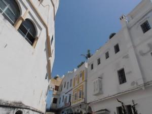 Fachadas casas de Tanger.
