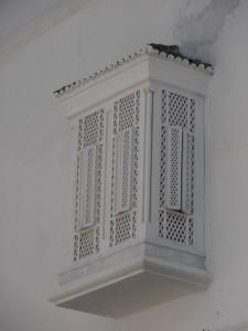 Detalle fachadas de Tanger