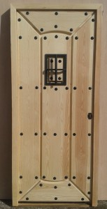"Puerta de madera, puerta de entrada modelo ""Cameros"""