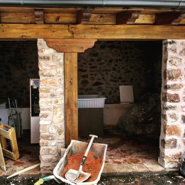 Carpinter a de madera vigas de madera - Restaurar vigas de madera ...