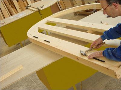 Charpenterie menuiserie bacigalupe fabrication for Fabricacion de muebles mdf