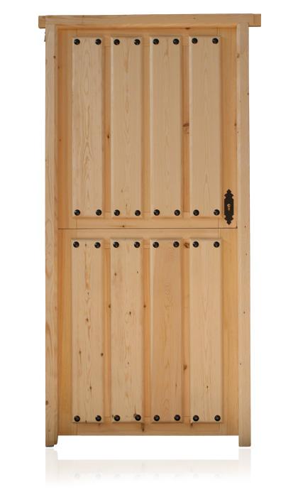 Carpinter a bacigalupe puertas de madera - Puertas de madera exteriores ...