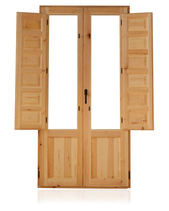Carpinter a bacigalupe ventanas y balcones de madera for Ventanas en madera para interiores