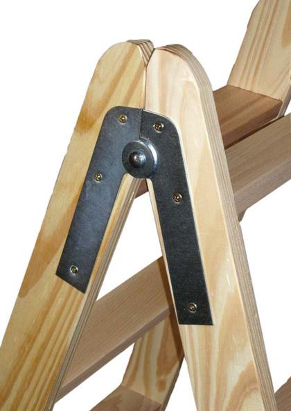 Bisagras para escaleras de madera materiales de for Escaleras de madera para construccion