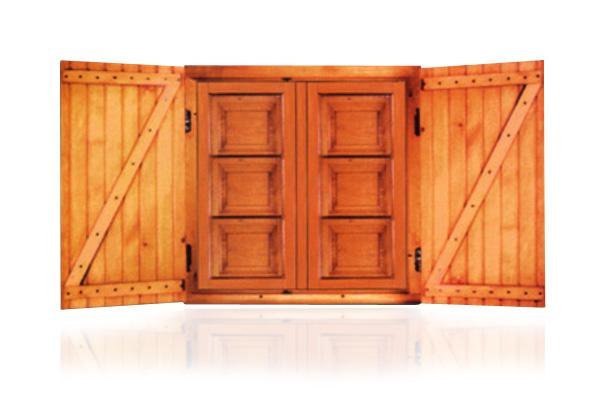 Productos ventanas balcones y contraventanas de madera - Balcones de madera ...