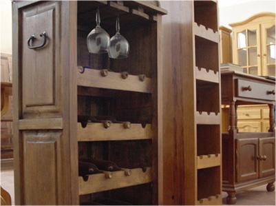 Carpinter a bacigalupe carpinter a de madera - Botelleros de obra ...